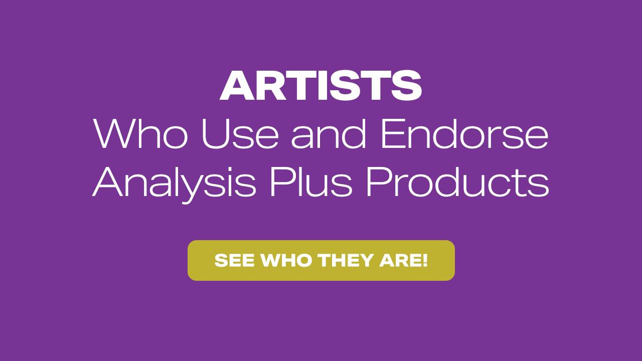 Analysis Plus Artists